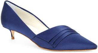 Something Bleu Brenna Kitten Heel Pump