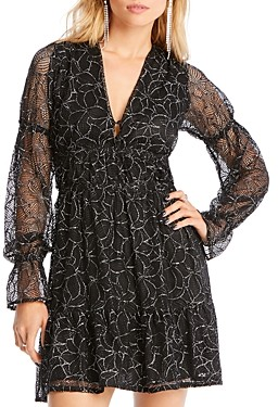 Lini Gabriella Balloon-Sleeve Embroidered Dress - 100% Exclusive