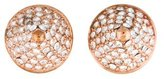 Eddie Borgo Crystal Cone Stud Earrings