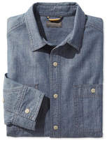 L.L. Bean Signature Chambray Shirt, Long-Sleeve