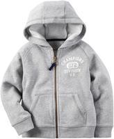 Carter's Zip Front Fleece Hoodie