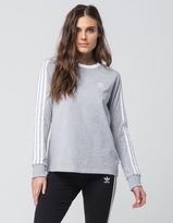 adidas 3 Stripes Womens Long Sleeve Tee