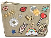 Steve Madden Regina Pouch with Patches