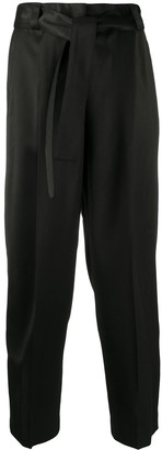 Pt01 Cropped Tapered-Fit Trousers