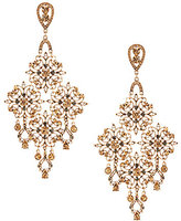 Natasha Accessories Faux-Crystal Chandelier Statement Earrings