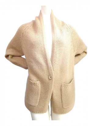 Nice Connection Beige Wool Jacket for Women