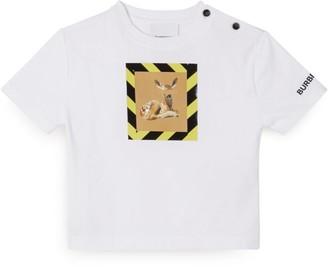 Burberry Kids Deer Graphic T-Shirt (6-24 Months)