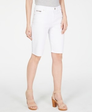 INC International Concepts Inc Denim Bermuda Shorts, Created for Macy's