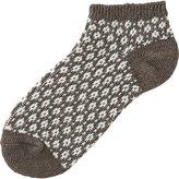 Uniqlo Women Short Socks (Jacquard)