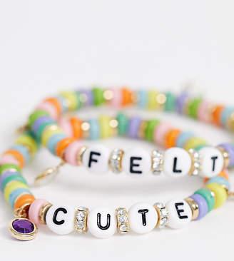 Reclaimed Vintage inspired friendship bracelet pack-Multi