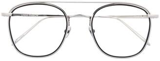 Linda Farrow Aviator Frame Glasses