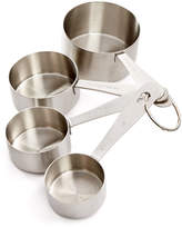 Martha Stewart Collection Stainless Steel Measuring Cups, Created for Macy's
