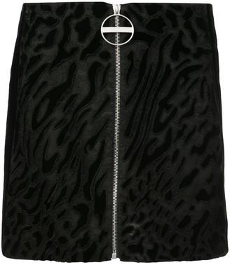 Givenchy Zipped Mini Skirt
