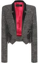 Haider Ackermann Cropped virgin wool-blend blazer