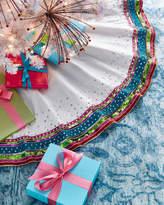 Kim Seybert Playful Brights Collection Tree Skirt