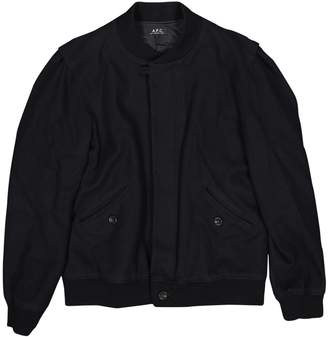 A.P.C. Navy Wool Jackets