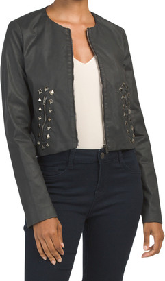 Made In Italy Studded Jacket