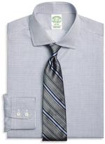 Brooks Brothers Milano Fit Textured Micro Check Dress Shirt