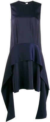 Victoria Victoria Beckham Draped Scarf Dress