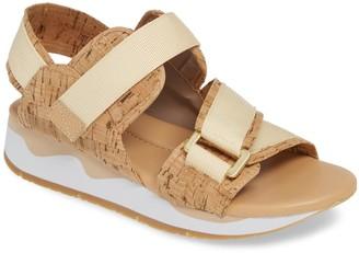 Donald J Pliner Sarra Cork Wedge Sandal