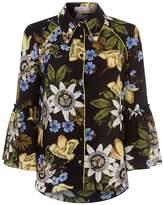 Erdem Aran Floral Shirt
