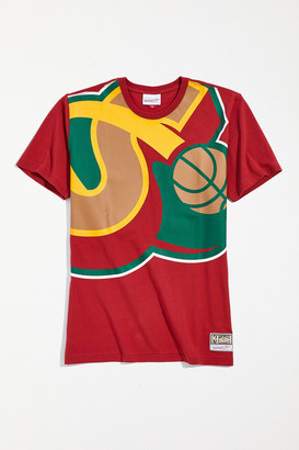 Mitchell & Ness Big Face Seattle Supersonics Tee