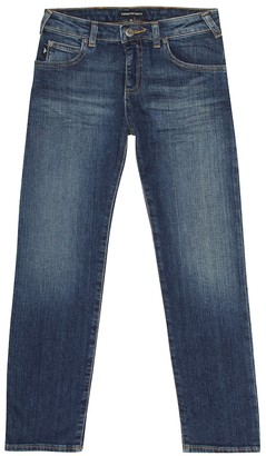 Emporio Armani Kids Slim-fit jeans