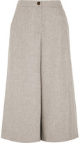 Vanessa Seward Charly Wool Culottes - Light gray