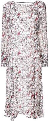 IRO patterned long-sleeved blouse