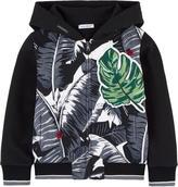 Dolce & Gabbana Botanical garden zip hoodie