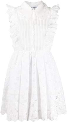 Self-Portrait Broderie Anglaise Mini Dress