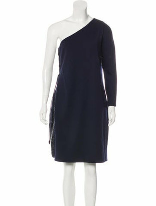 Ralph Rucci Sequined Wool Dress wool