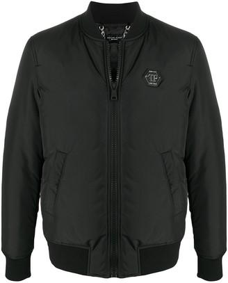 Philipp Plein Istitutional bomber jacket