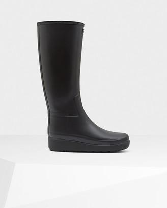 Hunter Women's Refined Slim Fit Creeper Tall Boots