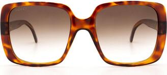 Gucci Gg0632s Havana Sunglasses