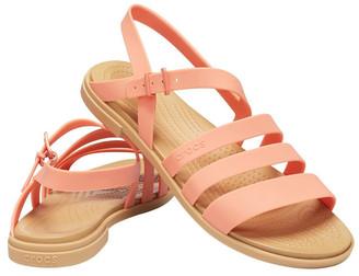 Crocs Tulum 206107 Grapefruit/Tan Sandal