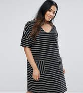 Junarose Stripe Print Dress