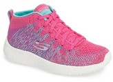 Skechers Girl's 'Energy Burst' High Top Sneaker