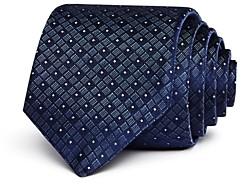 John Varvatos Geometric Dot Classic Tie