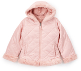 Hawke & Co Pink Reversible Quilted Jacket - Girls