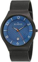 Skagen Men's SKW6147 Black Stainless-Steel Quartz Watch