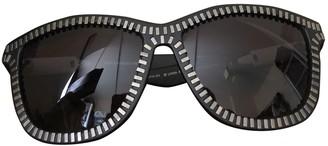 Alexander Wang Black Plastic Sunglasses