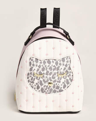 Betsey Johnson Luv Betsey By Pink Piper Cat Backpack