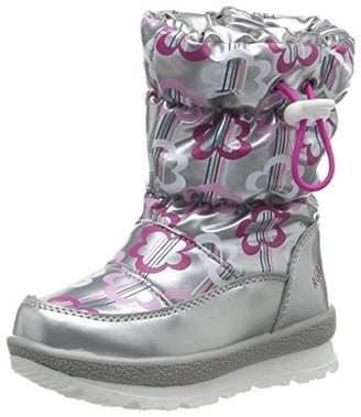 Agatha Ruiz De La Prada Girls' 191991 Snow Boots, Silver ((Mat Metalizado) Paprika)