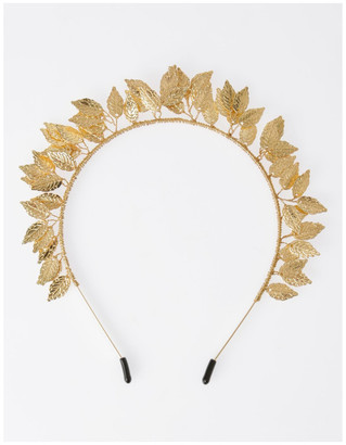 Collection Rose Gold Leaf Headband Hair Accessory