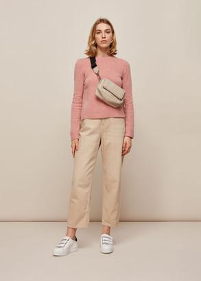 Puff Sleeve Merino Wool Knit
