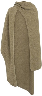 Deveaux Merino wool cape
