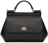 Dolce & Gabbana Black Mini Miss Sicily Bag