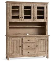 Pottery Barn Benchwright Buffet + Hutch Set, Seadrift