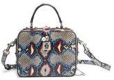 Dolce & Gabbana Miss Dolce Python Top-Handle Bag